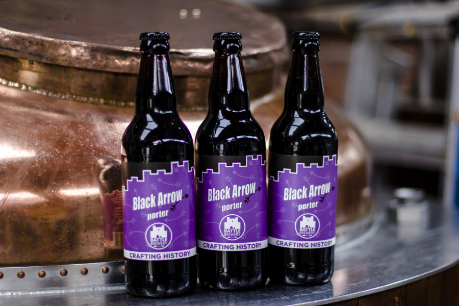 Black Arrow Porter (500ml) 4.5%