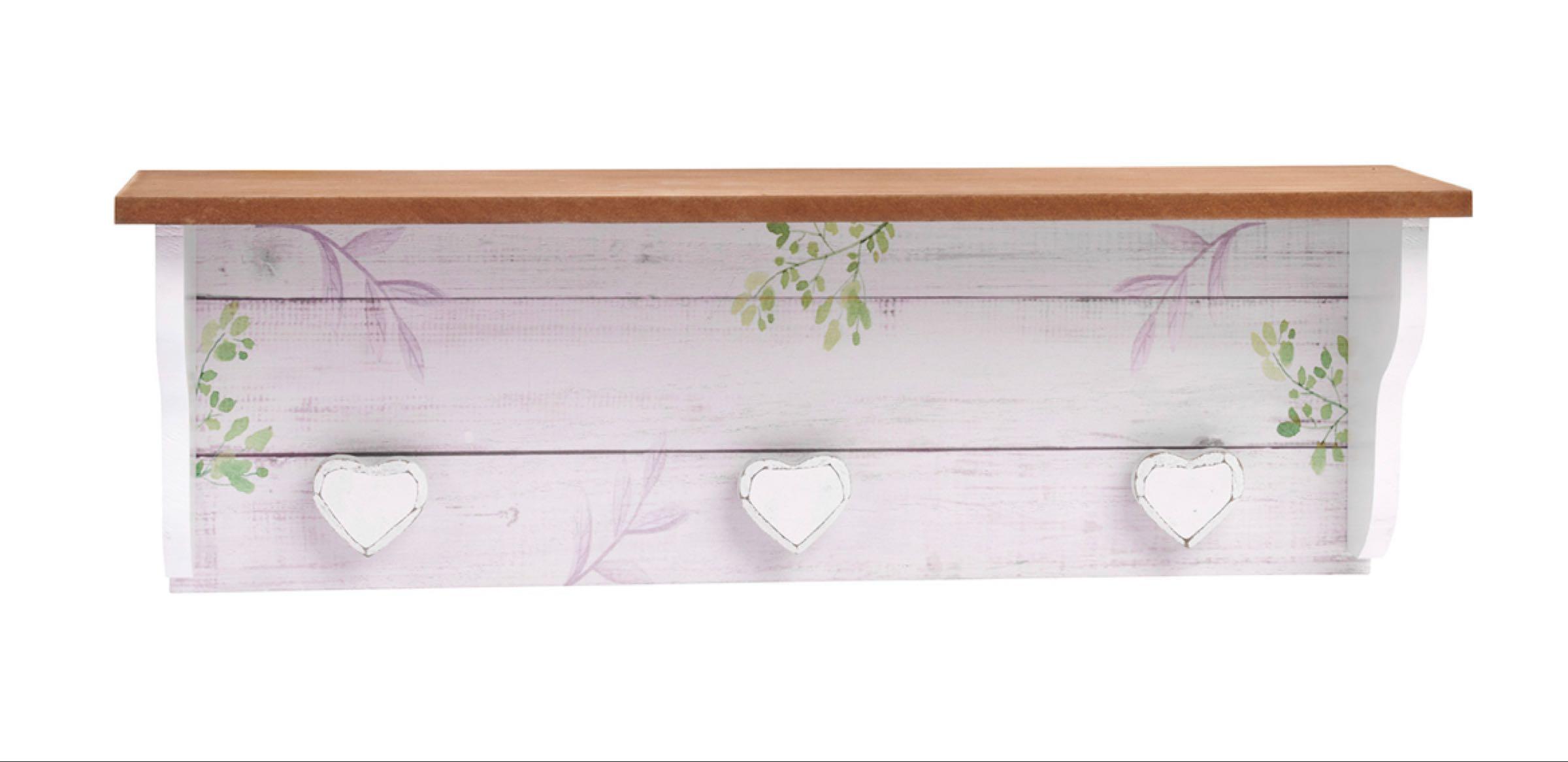 Wooden Leaf Shelf