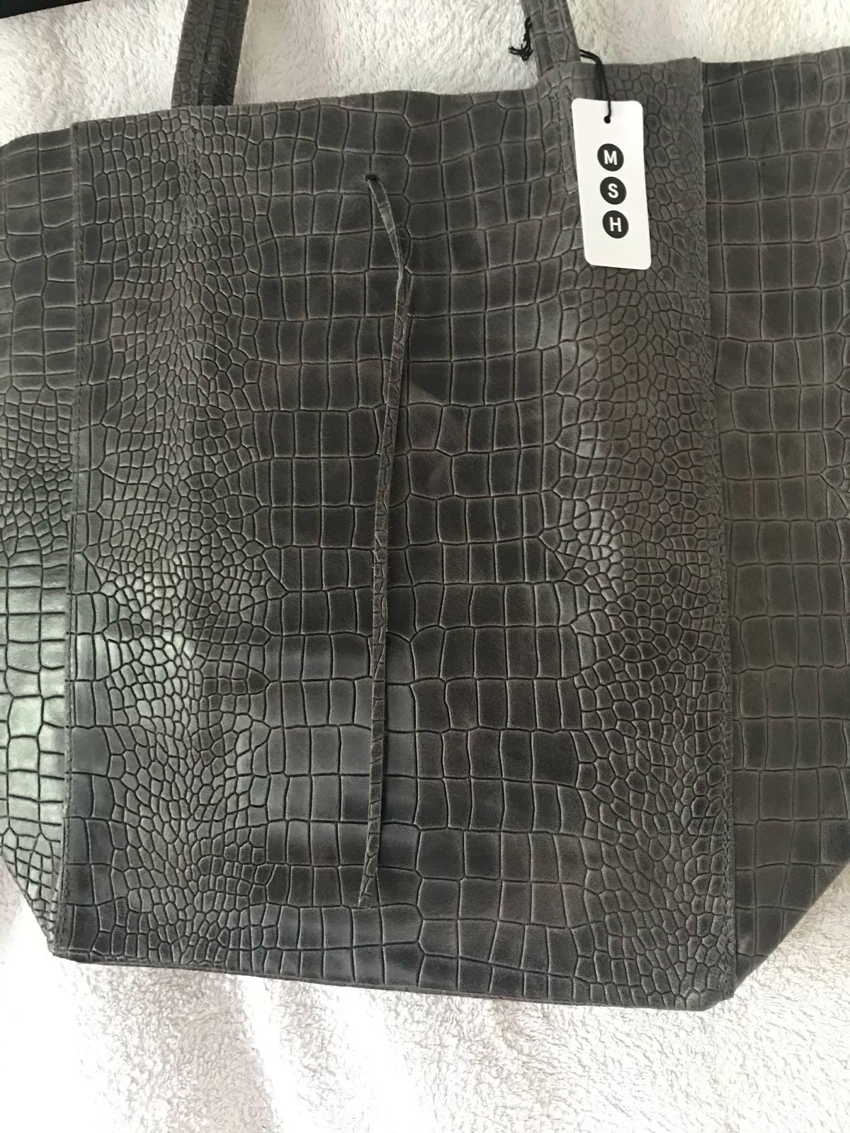 MSH Dark grey bag