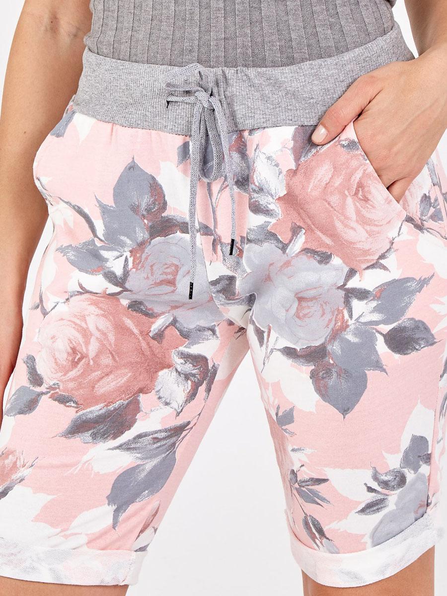 NV1090 Blush Floral Rose Shorts
