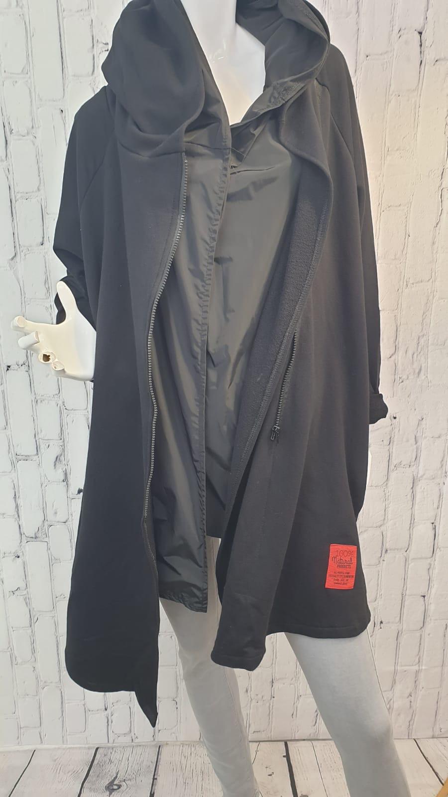 BILLI Hooded Zipped Cardigan/Jacket