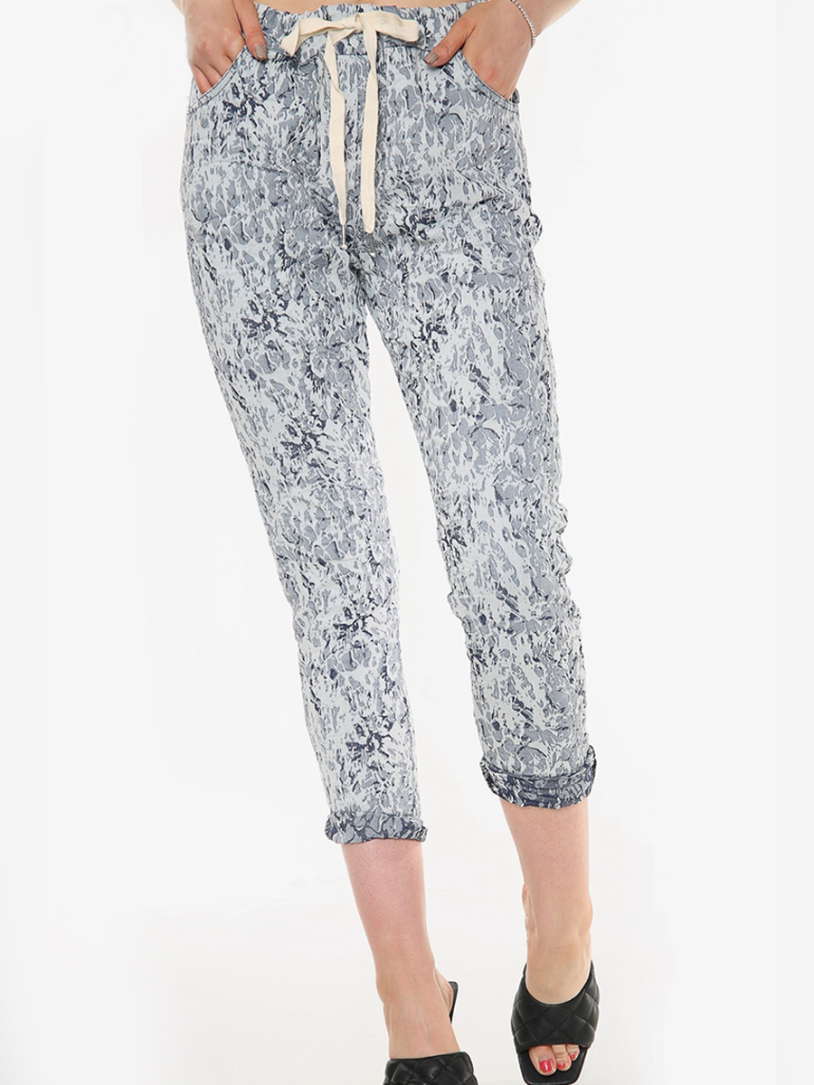 6115 Cracked Effect Jogger