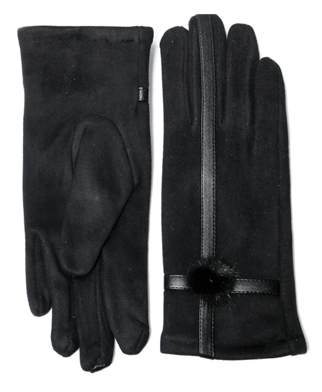 846 Envy Gloves with pom pom