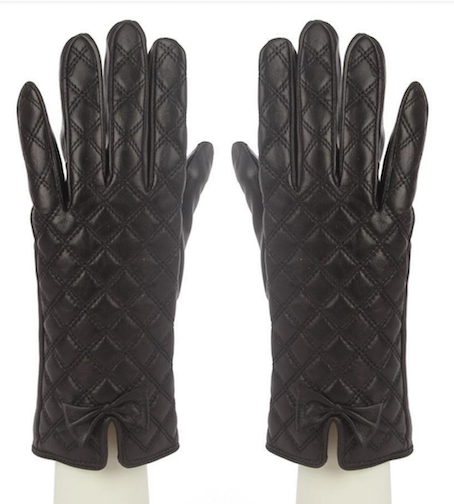 2581 Leather Square Quilted Gloves