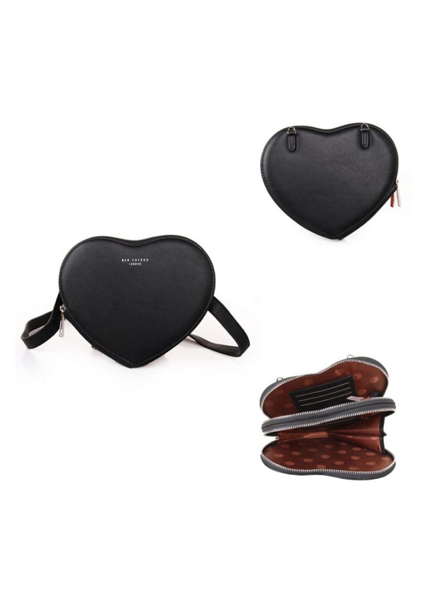 503 RC Black Heart Pouch