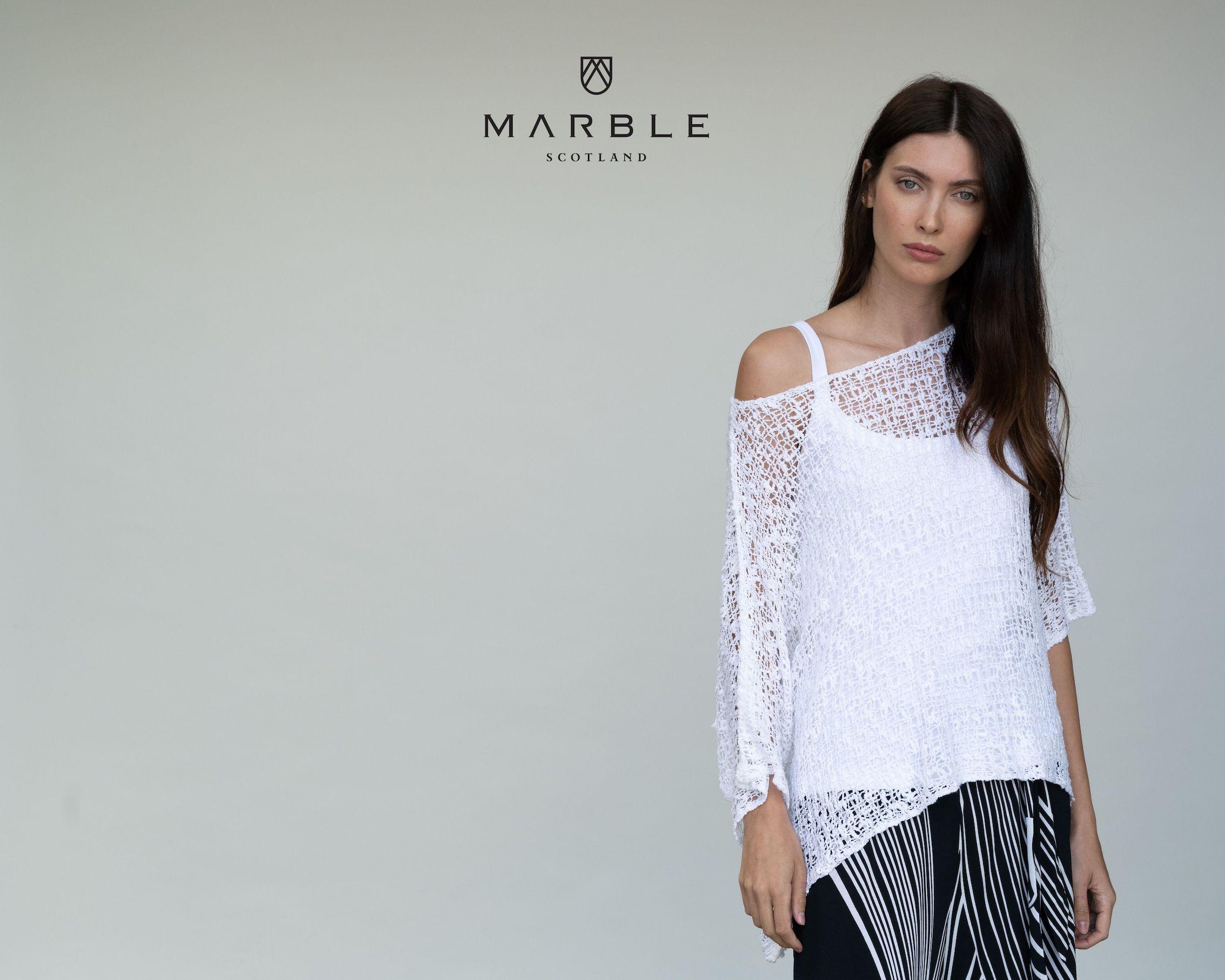 5186 MARBLE Crochet over top
