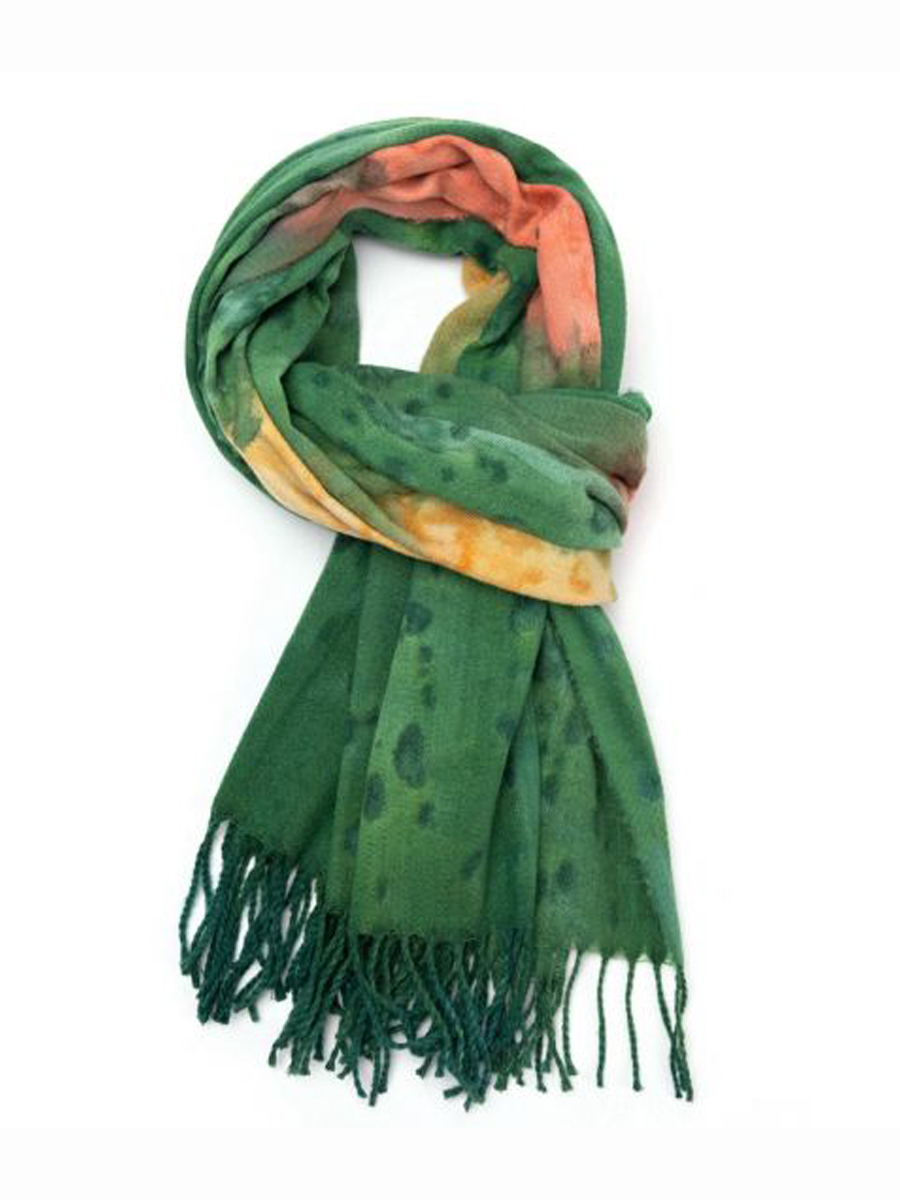 21315 ABSTRACT PRINT Scarf