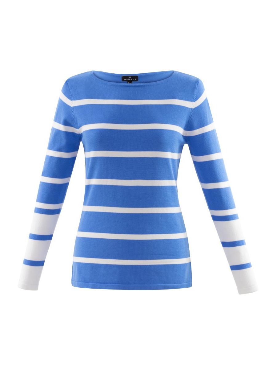 6015 MARBLE Stripe Sweater