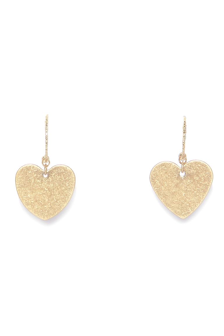 1074 ENVY Heart Earings