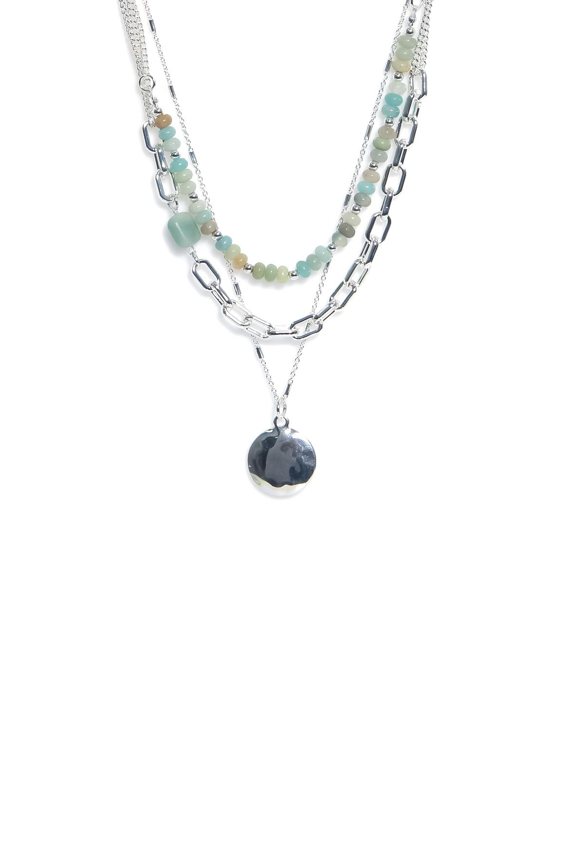 1306 ENVY Multi Layer Necklace