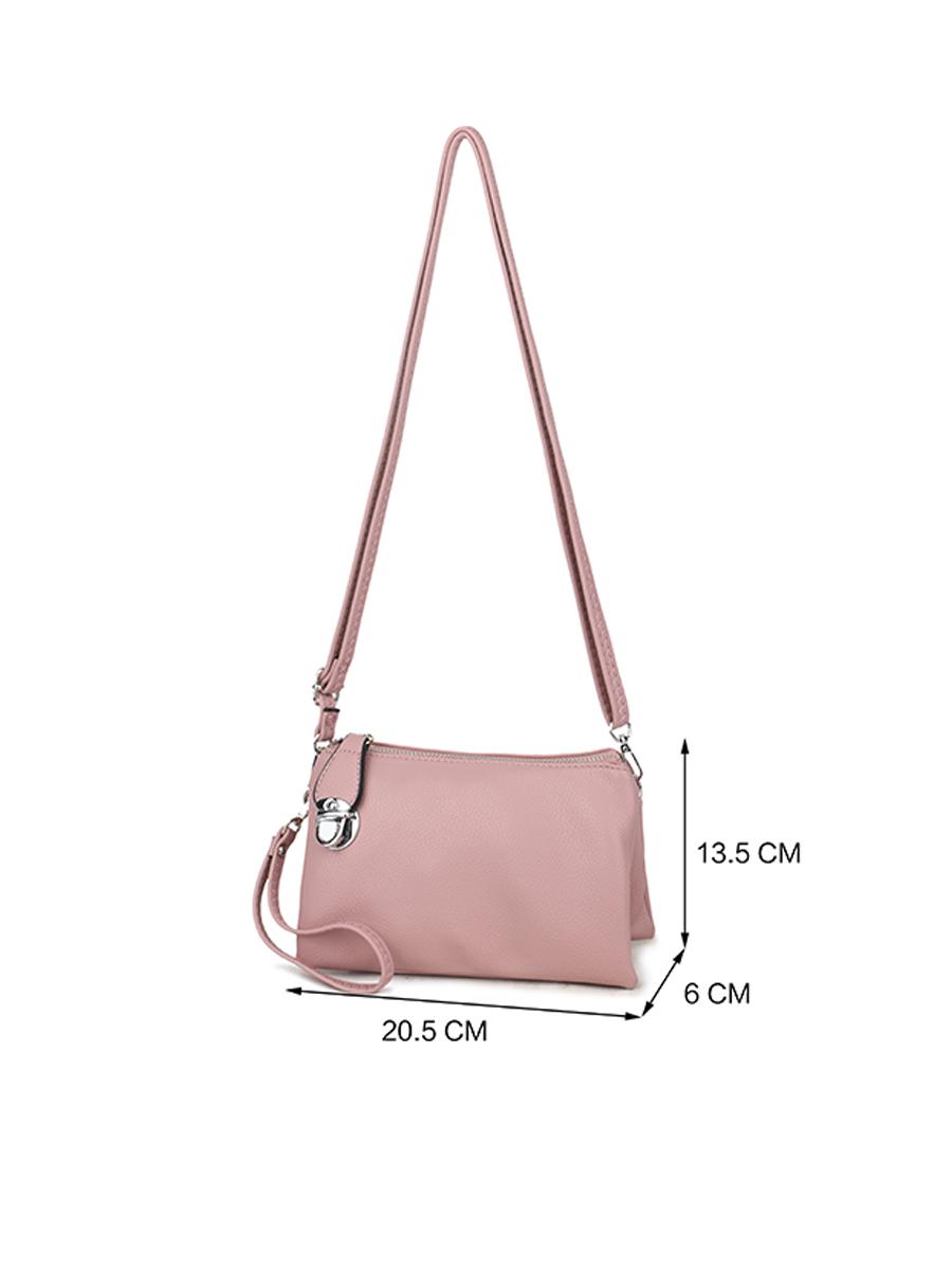 88101 LS Double Strap Shoulder Bag