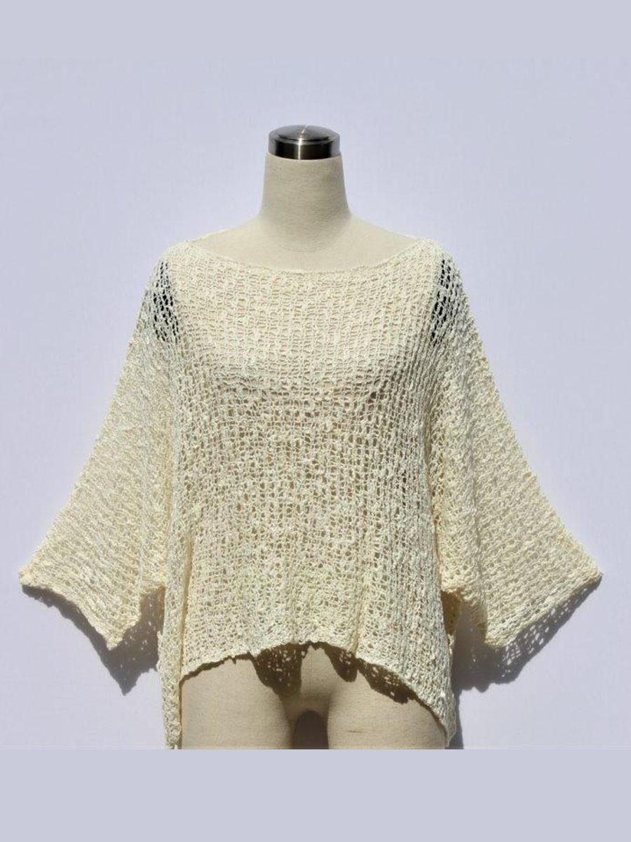 Poncho Pillow Crochet Top