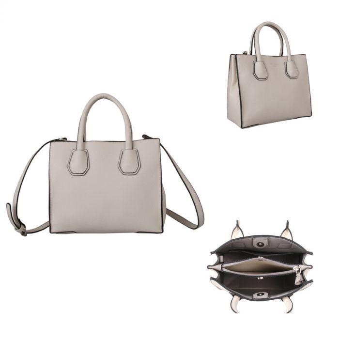 384 Structured Tote Handbag