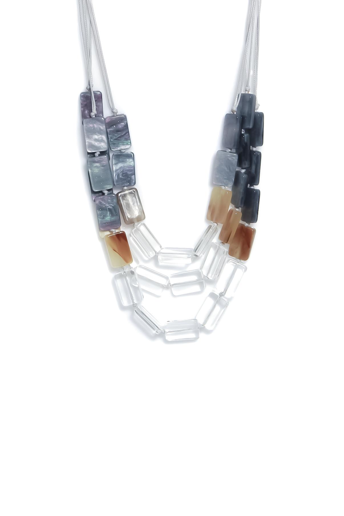 1331 ENVY Short Resin Necklace