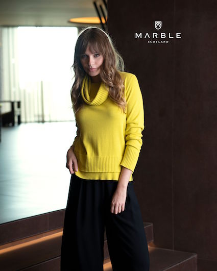 5899 MARBLE 2pc Sweater & Snood