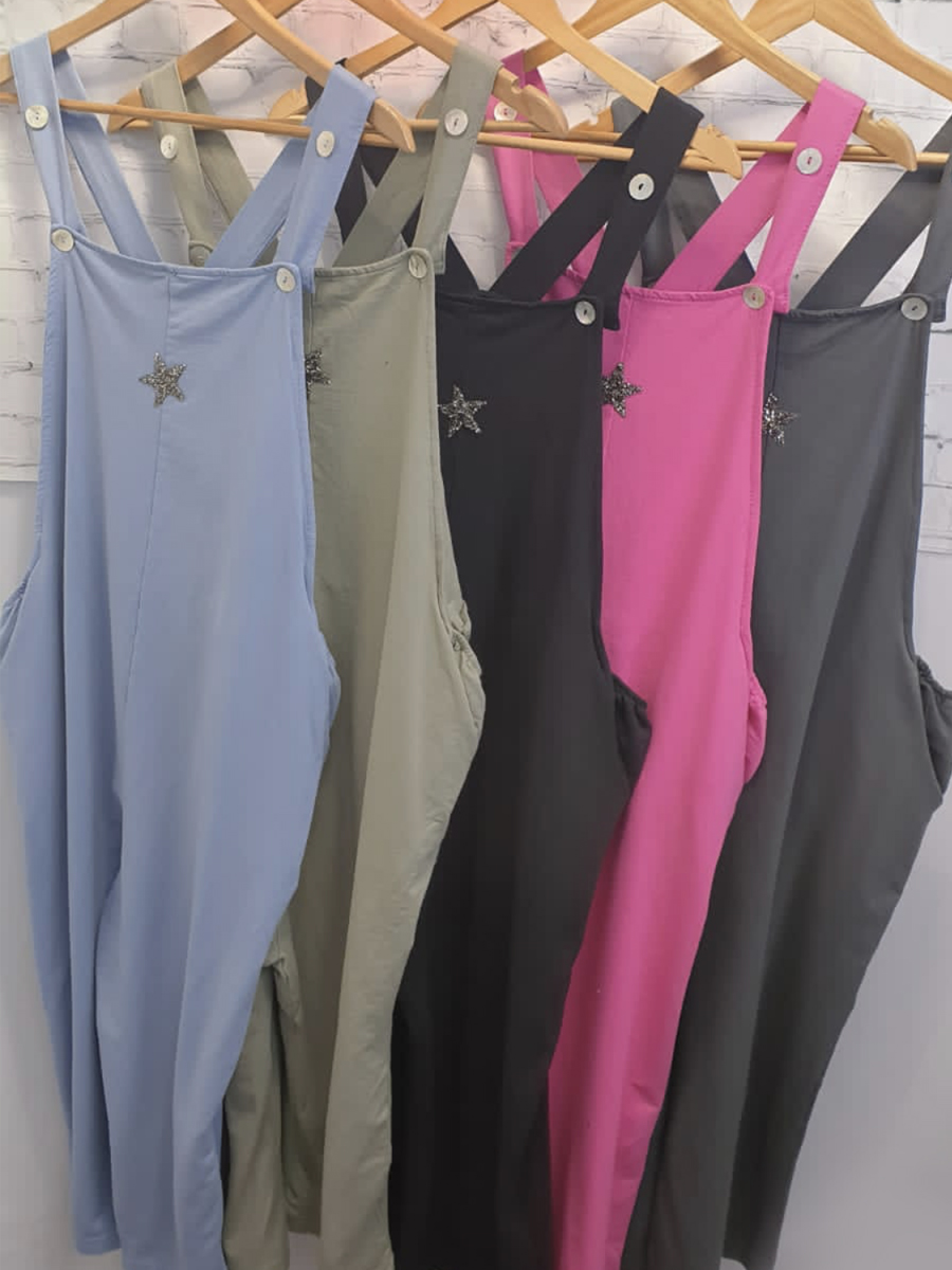 Cotton Star Dungarees