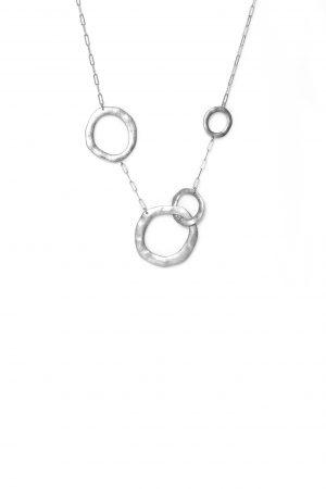 1243 ENVY 4 Circle Necklace