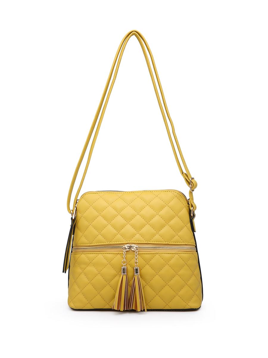 2377 Padded Detail Shoulder Bag