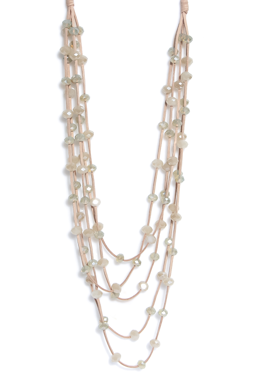 1342 ENVY Crystal Beaded Necklace