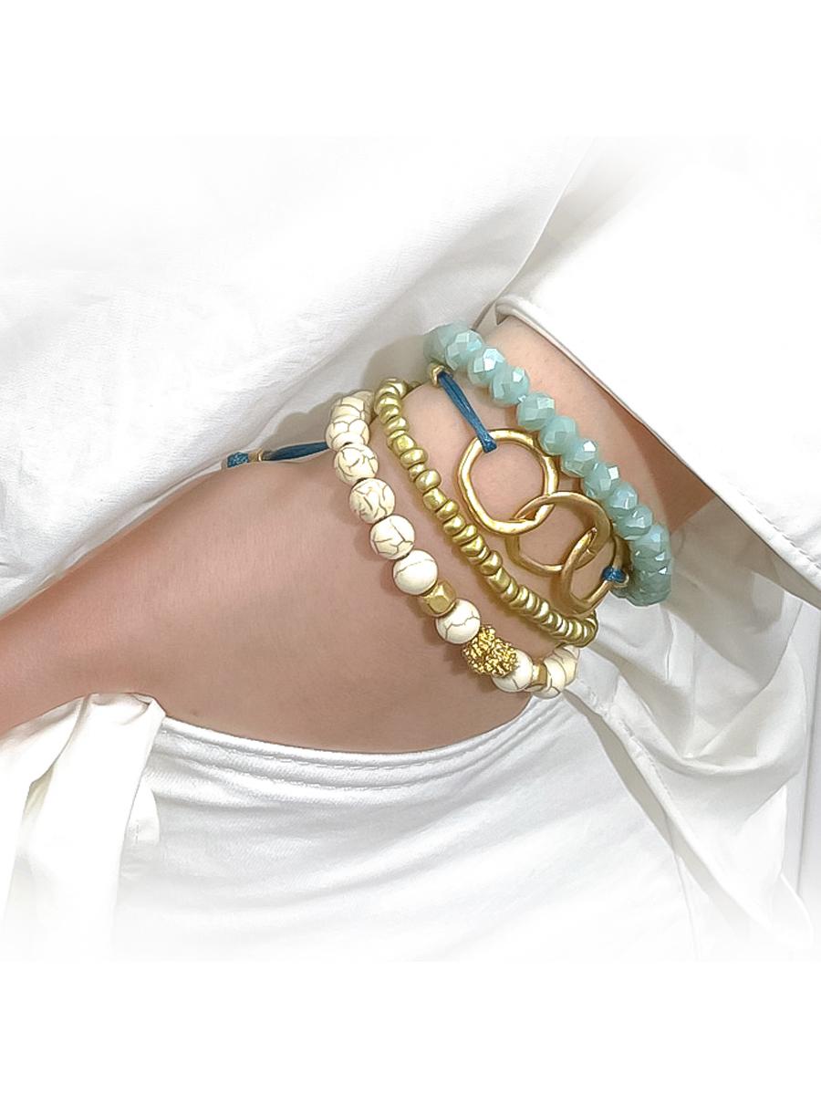 998 Stranded Green Bracelet
