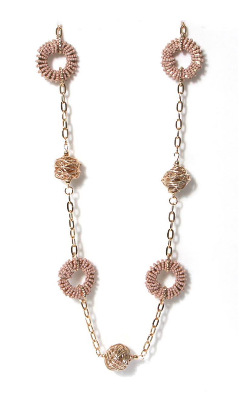 1132 ENVY Woven Necklace
