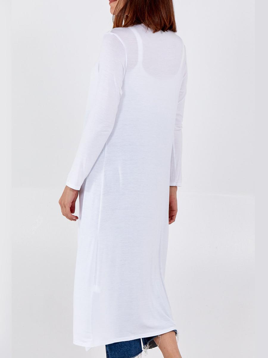 NV1156 Plain Long Sleeve Cardigan