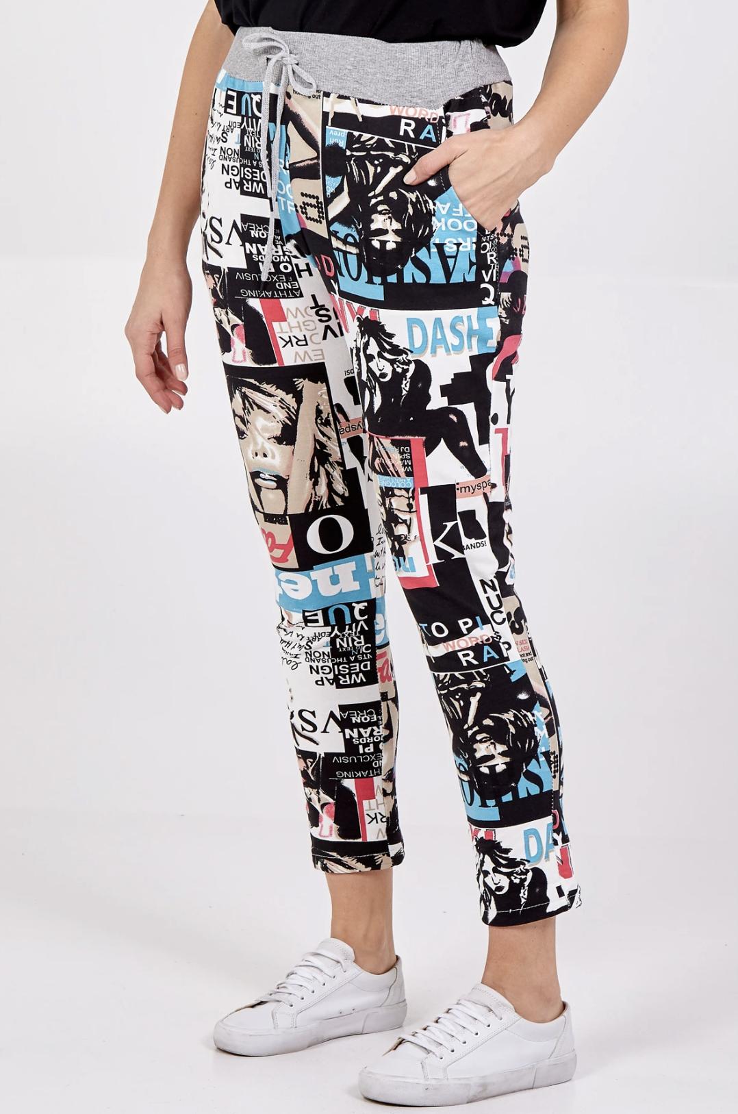 Pop Art Print Joggers