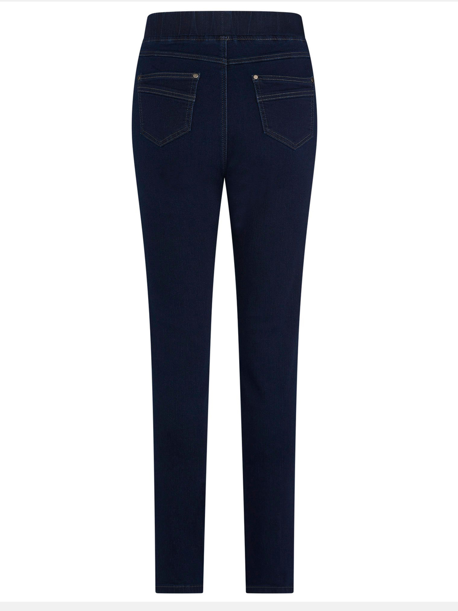436T PINNS Pull On Dark Denim Jeans