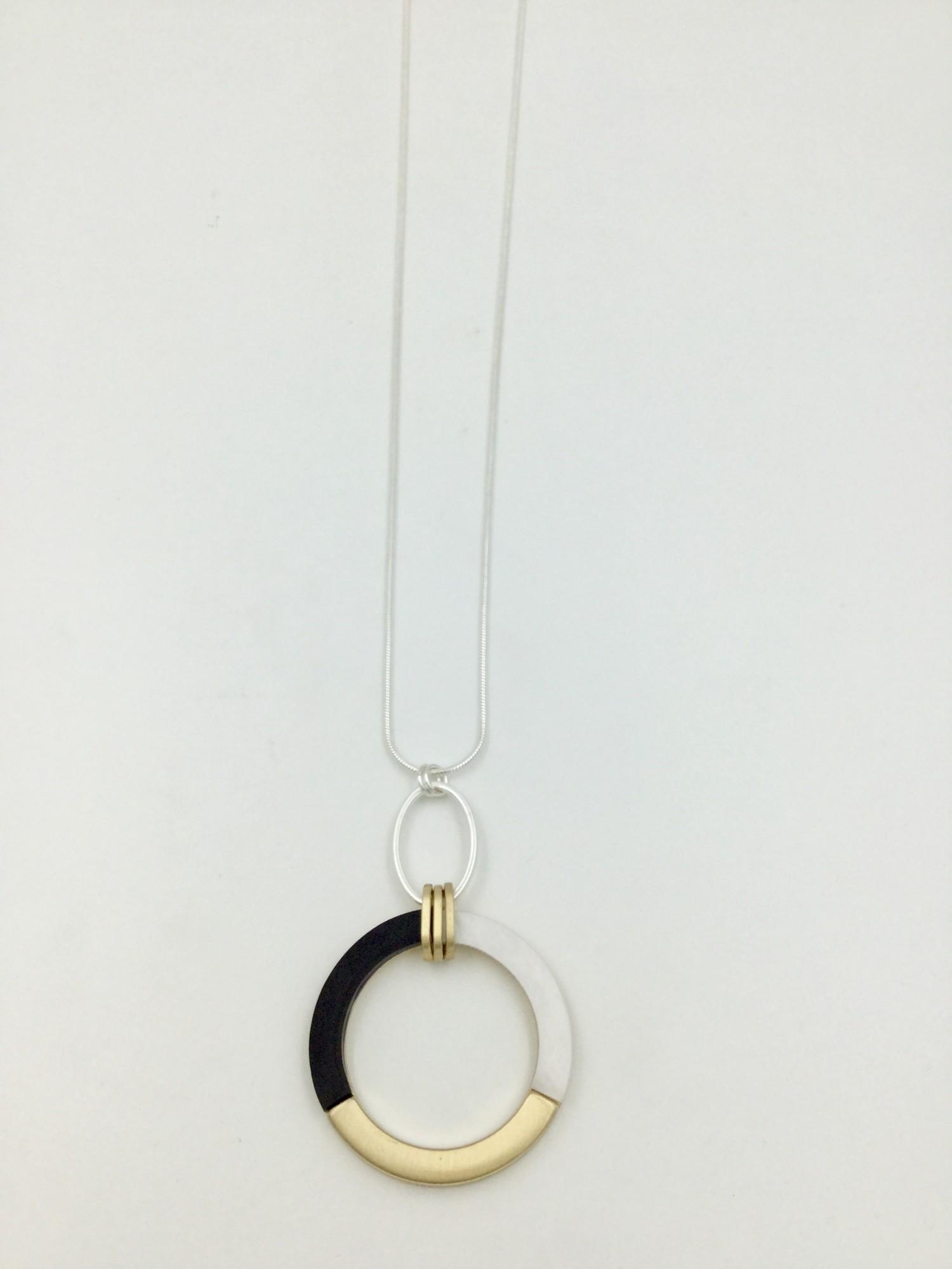 N601995SG Tri Colour Necklace