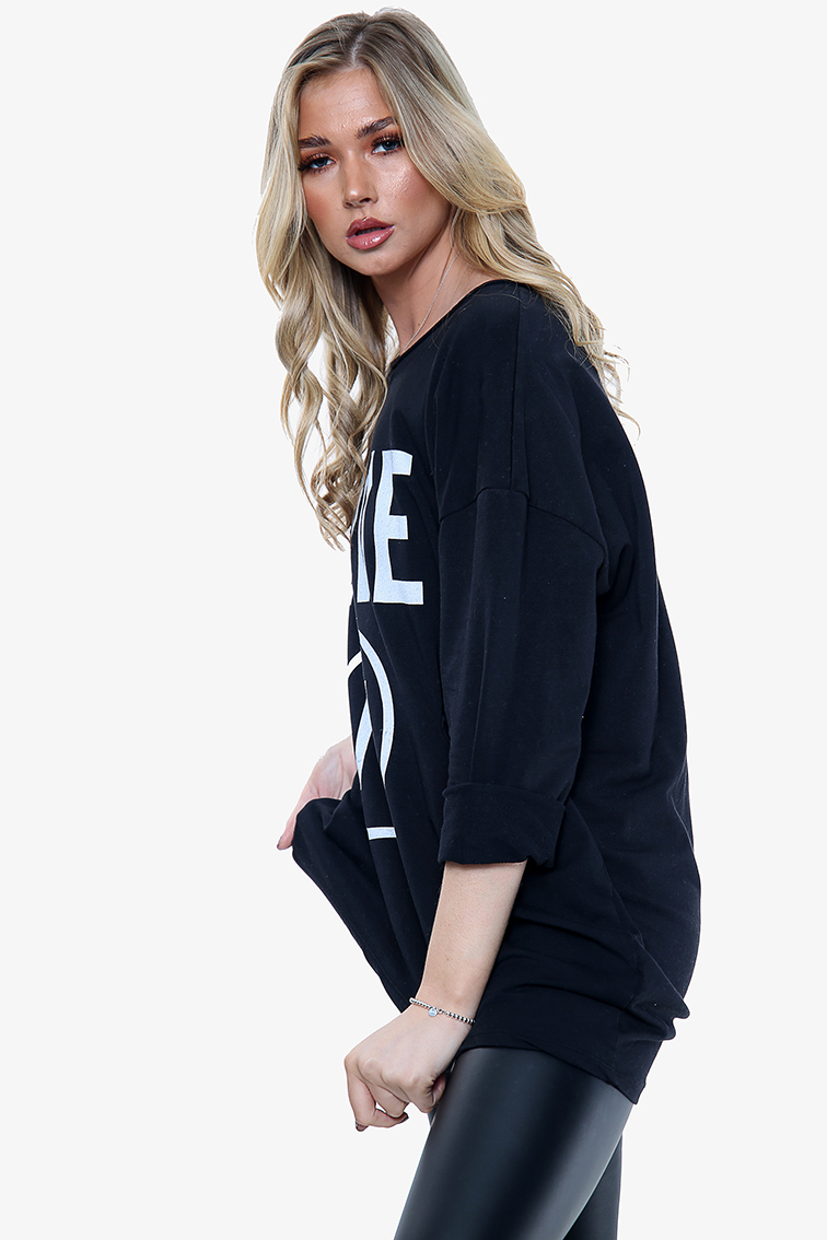 1866A 'Love It' Graphic Sweatshirt