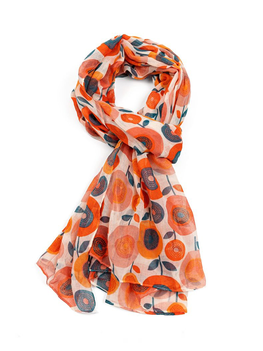 21020 In Bloom Scarf