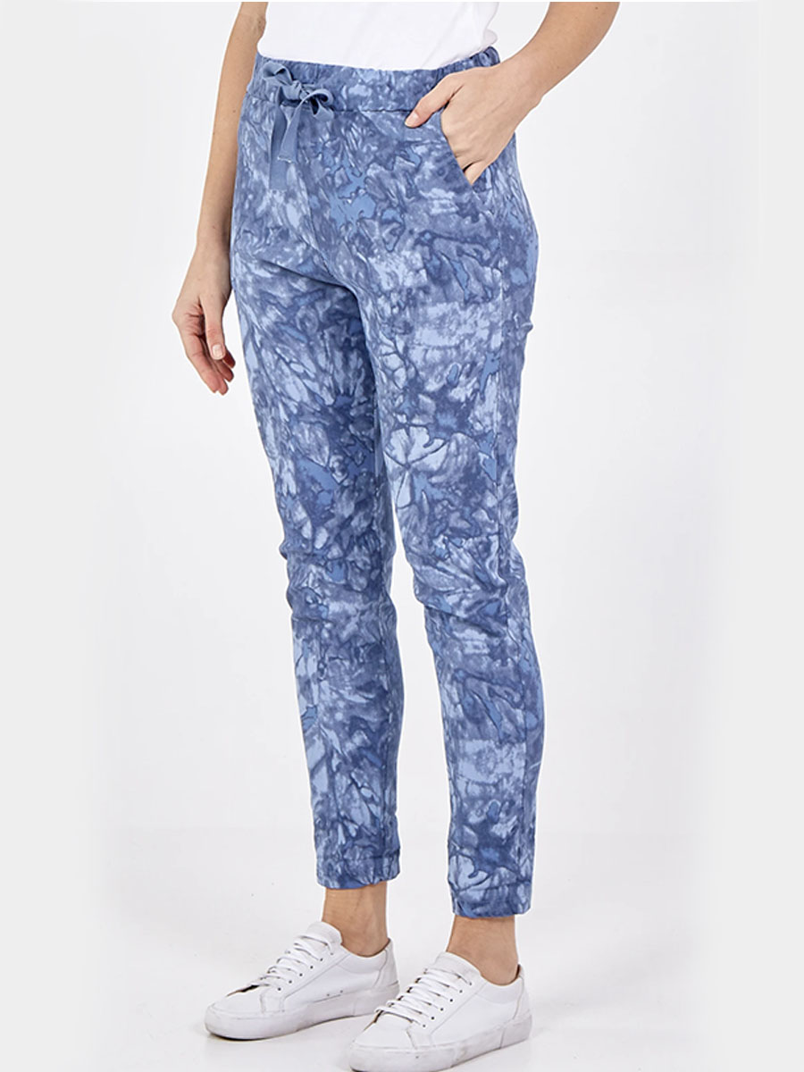 Marble Print Joggers