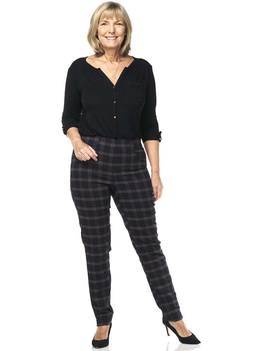 226T PINNS Tartan Trousers