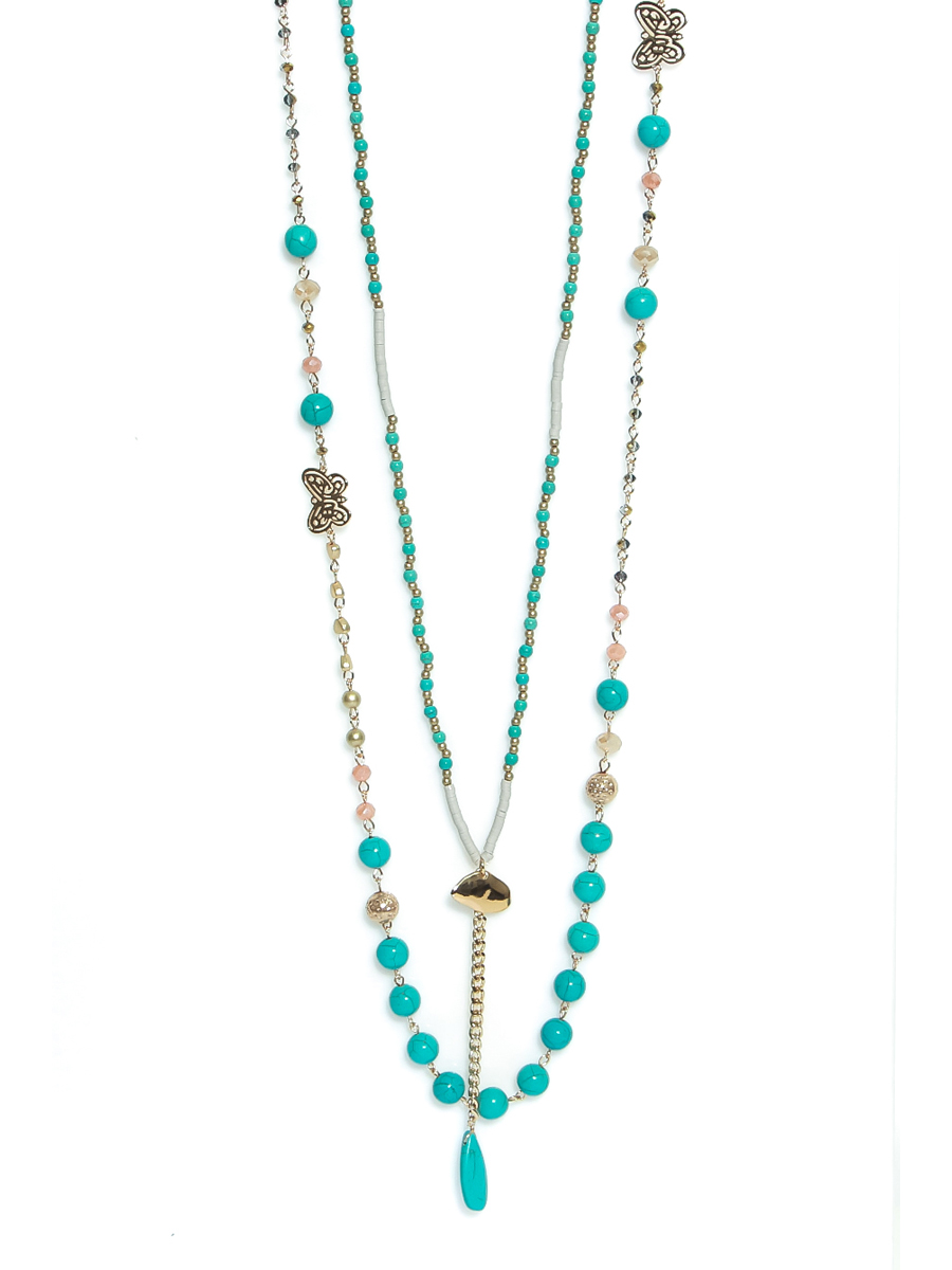 1350 ENVY DOUBLE LAYERED NECKLACE