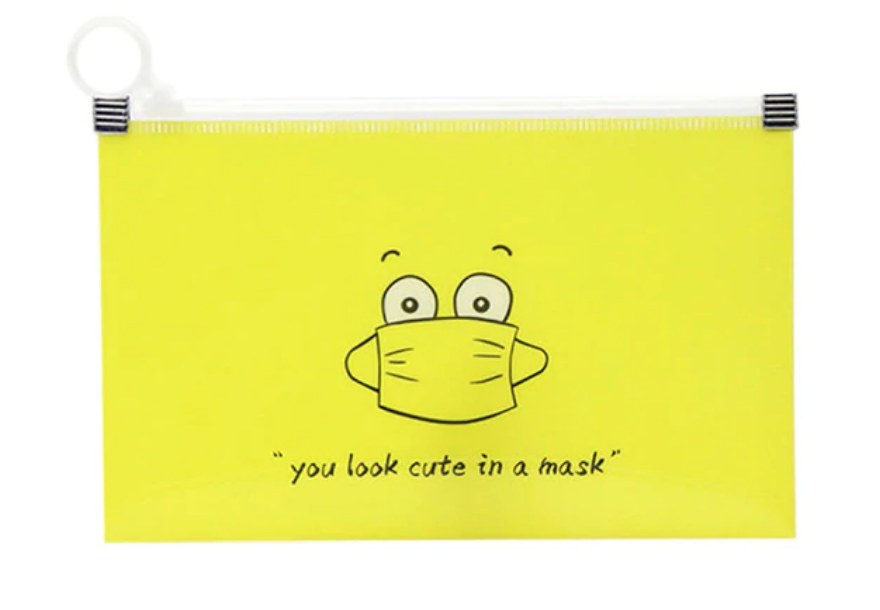 Mask Storage Wallets YOU LOOK CUTE IN A MASK