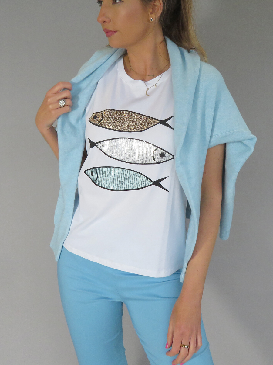 ART T101 DECK Fish Top