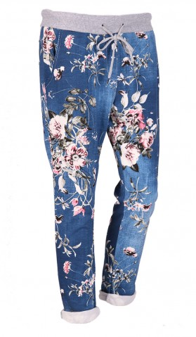 Italian Floral Joggers