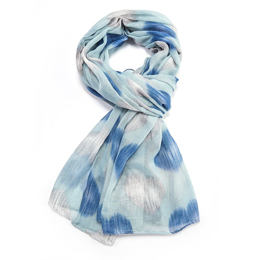 9122 Faded Heart Scarf