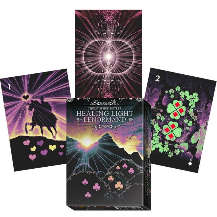 Healing light Lenormand - book + cards
