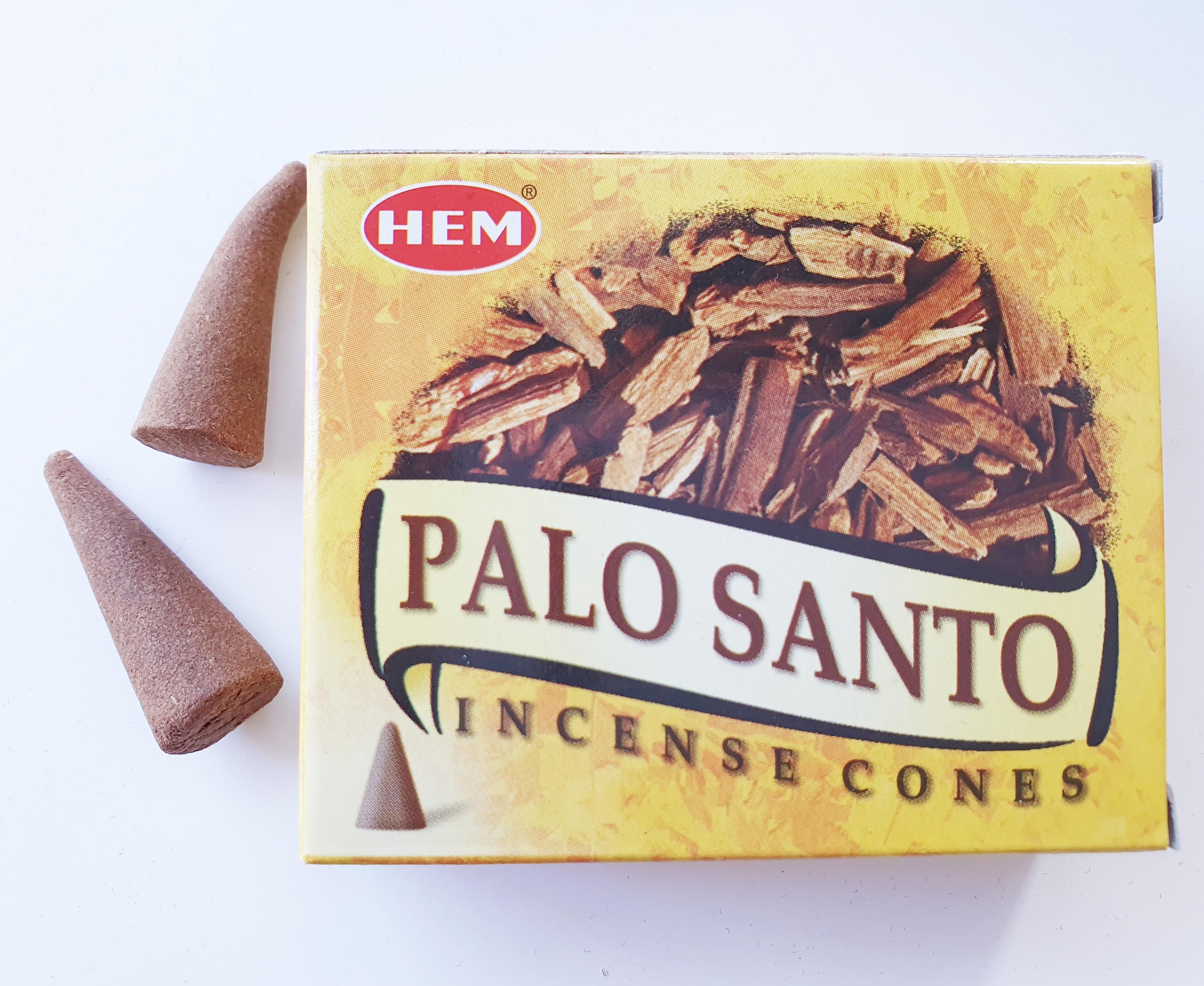 Palo Santo rökelsekoner HEM