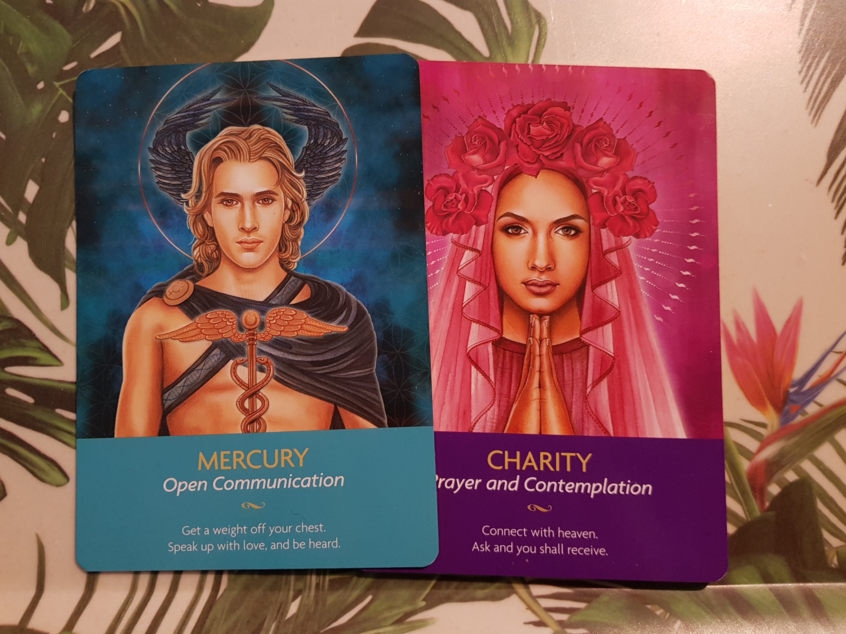 Keepers of the light - oracle cards