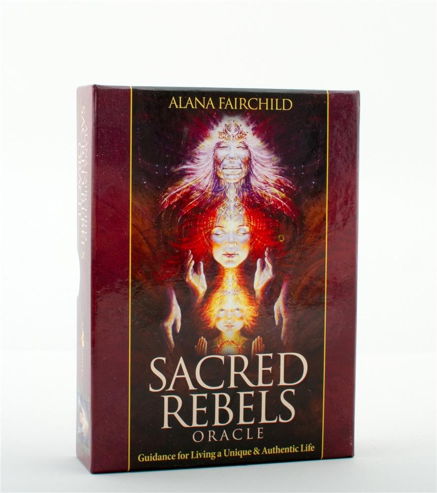 Sacred Rebels Oracle - Cards + book