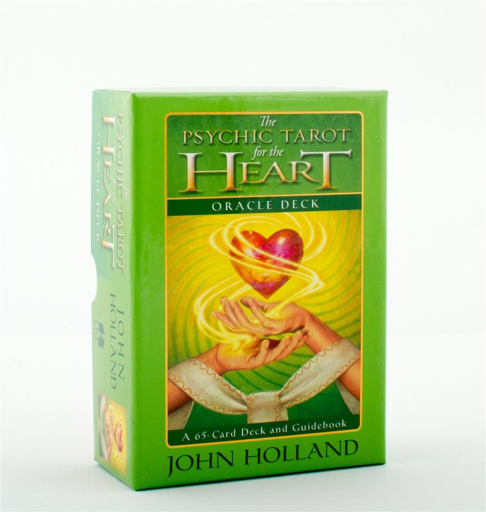 Psychic tarot for the heart - bok med kortlek av John Holland