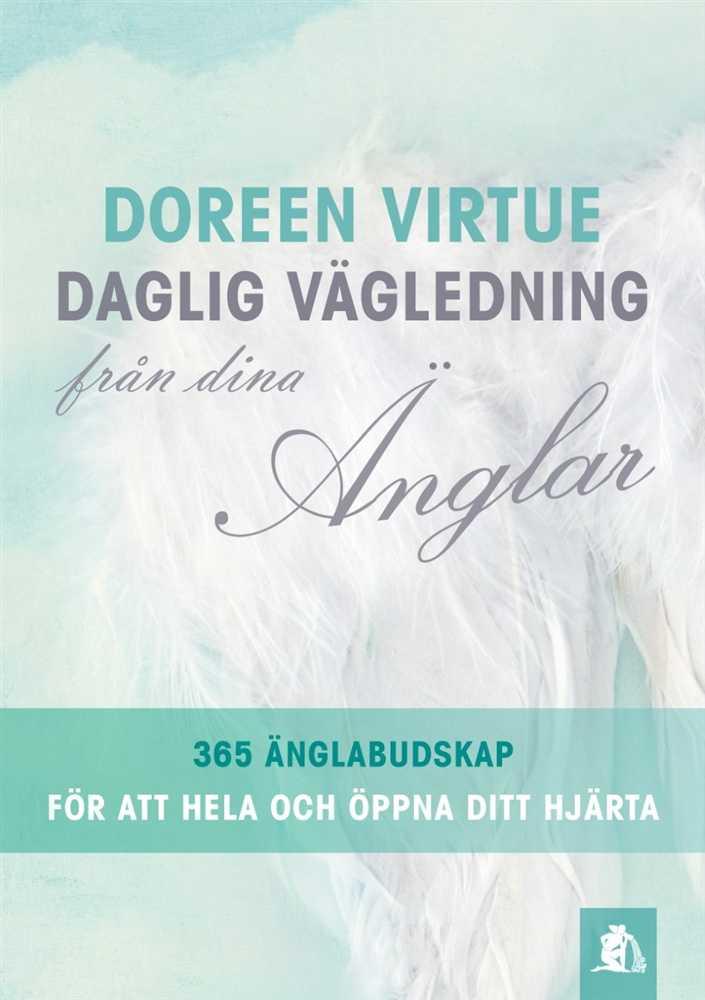Boken Daglig vägledning från dina änglar (Doreen Virtue)