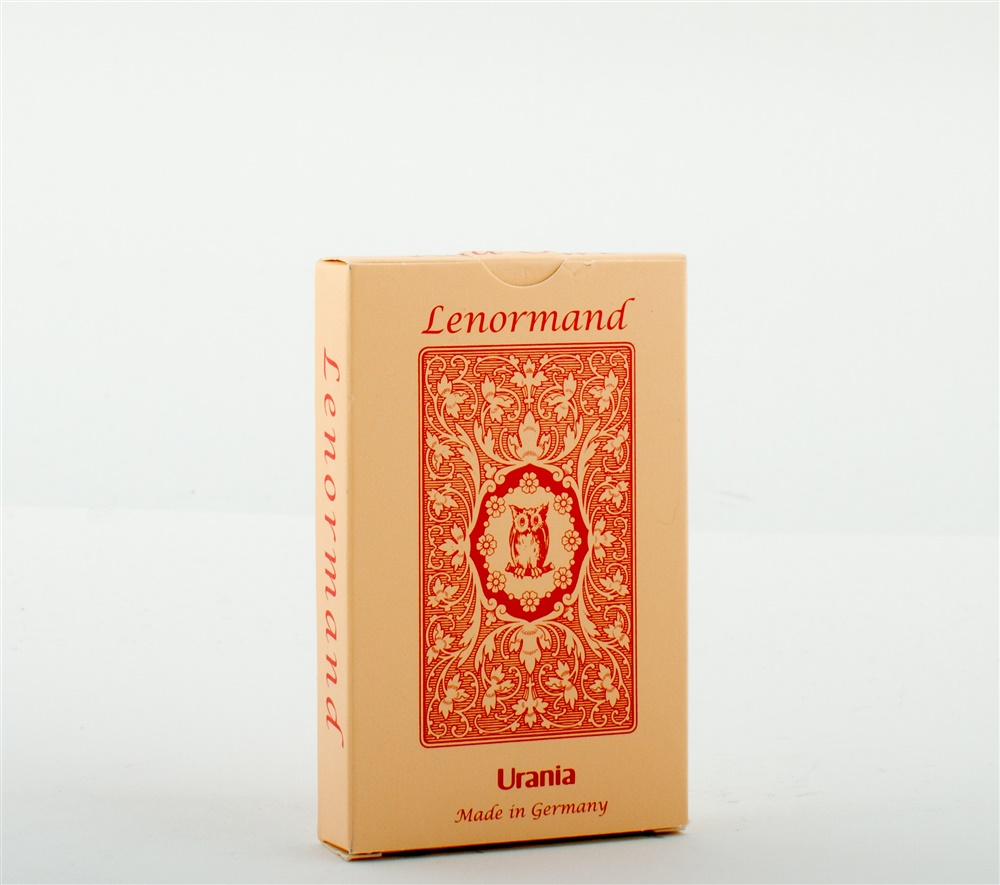 Lenormand Red Owl - card deck