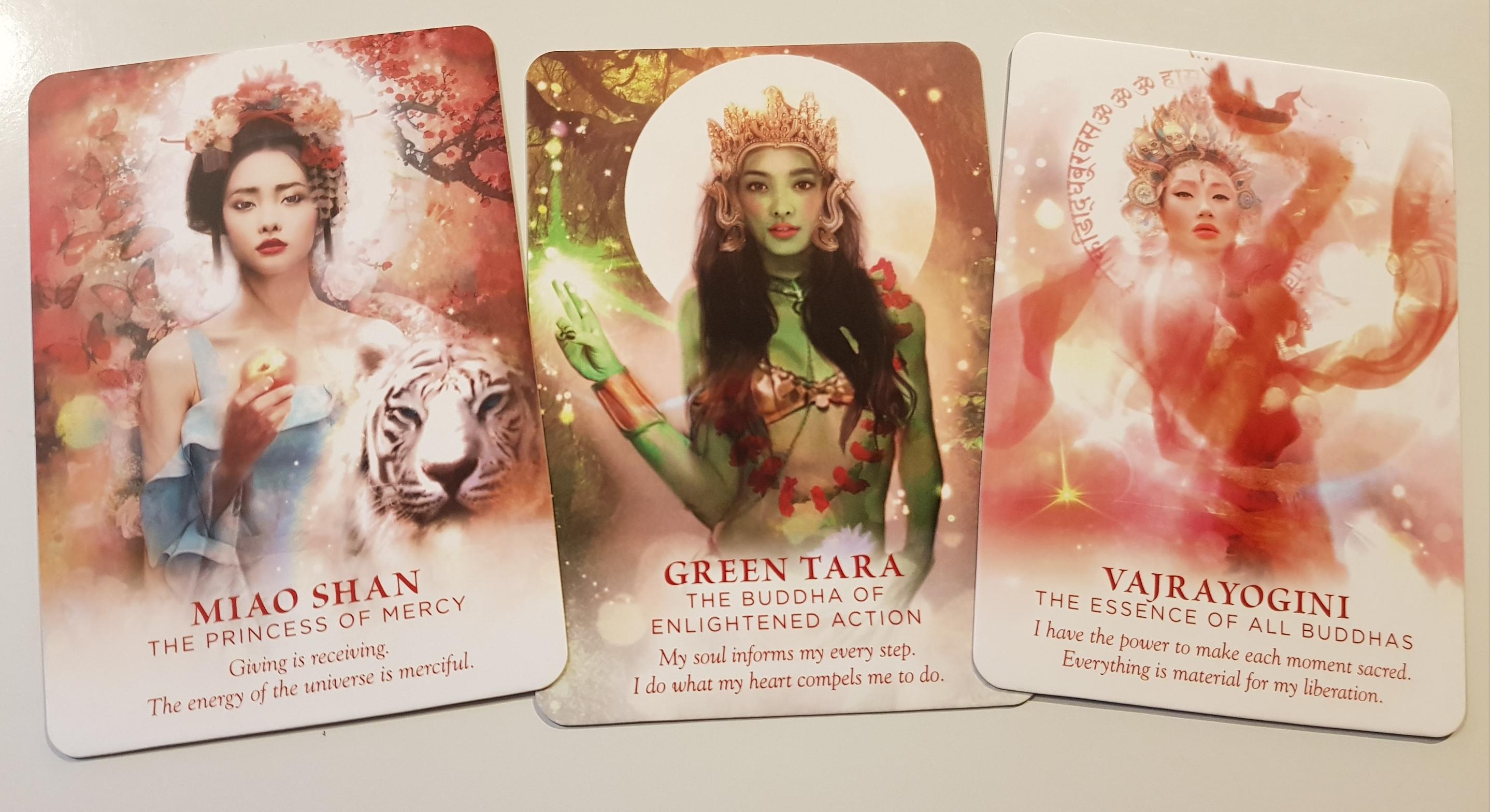 The Divine feminine Oracle Cards
