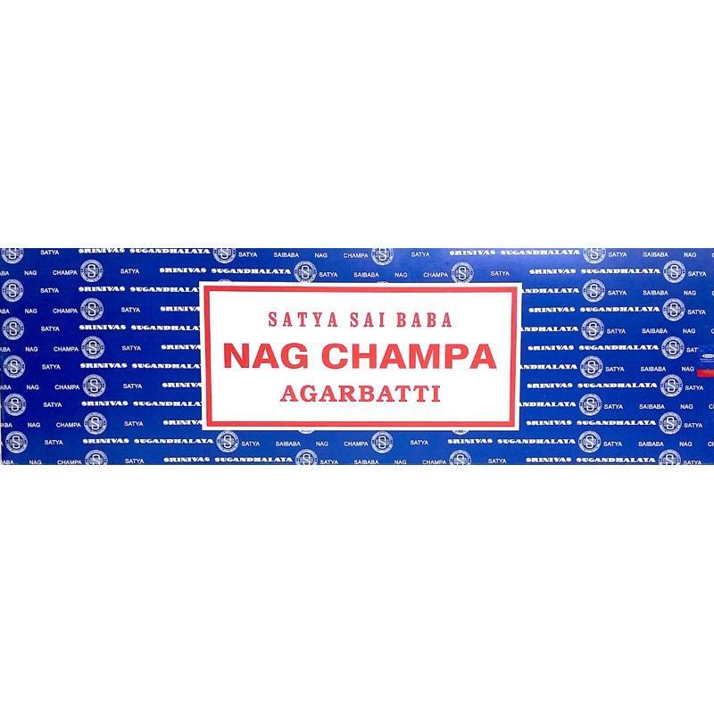 Nag Champa 100g - rökelsestickor
