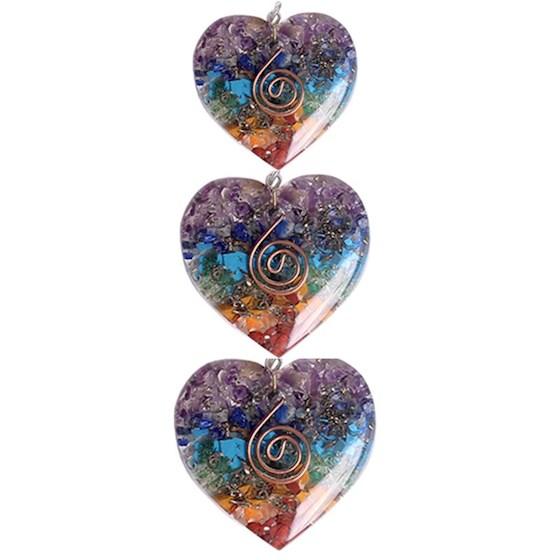 Halsband orgonit Hjärta