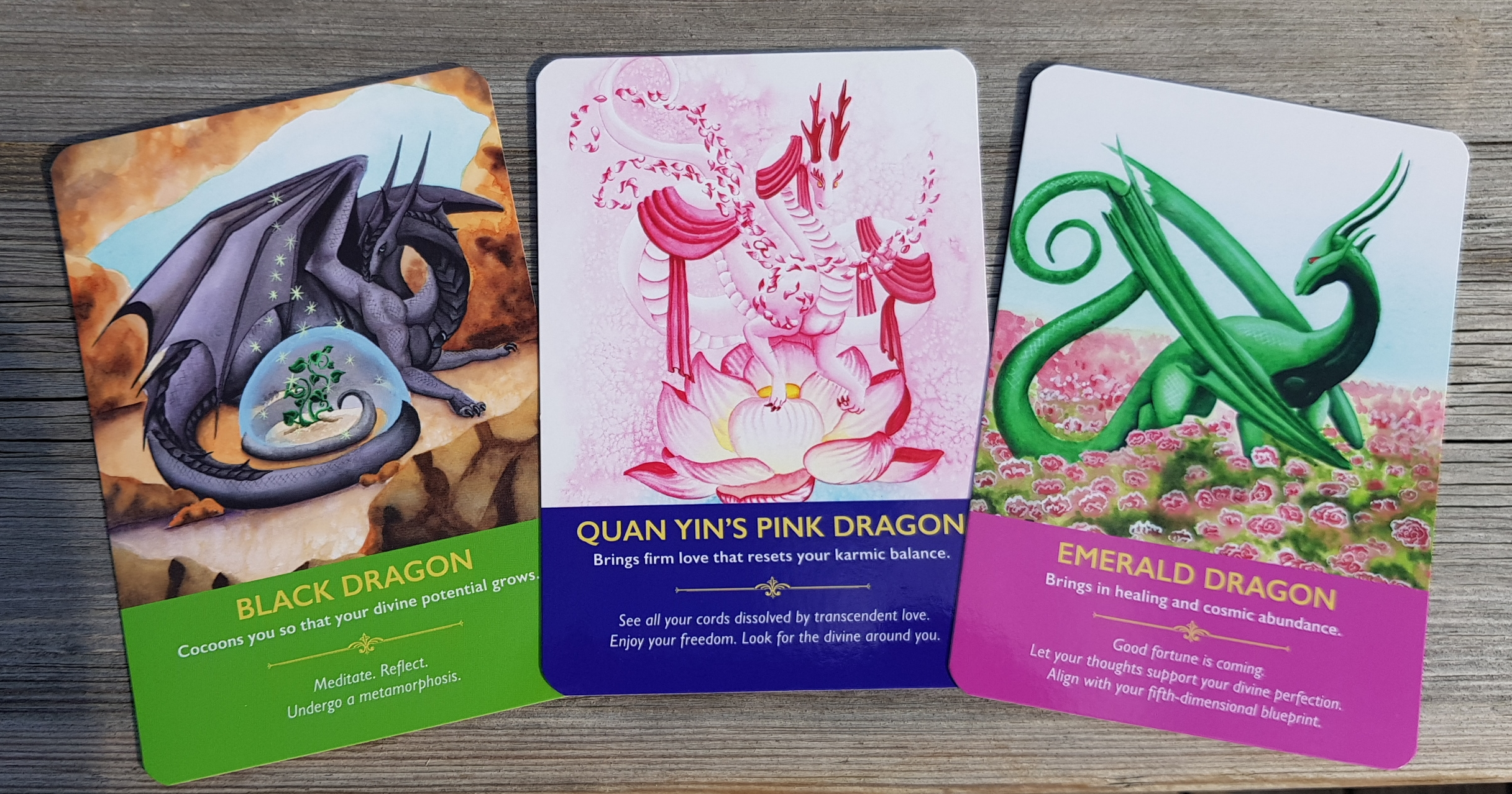 Dragon Oracle Cards - Diana Cooper