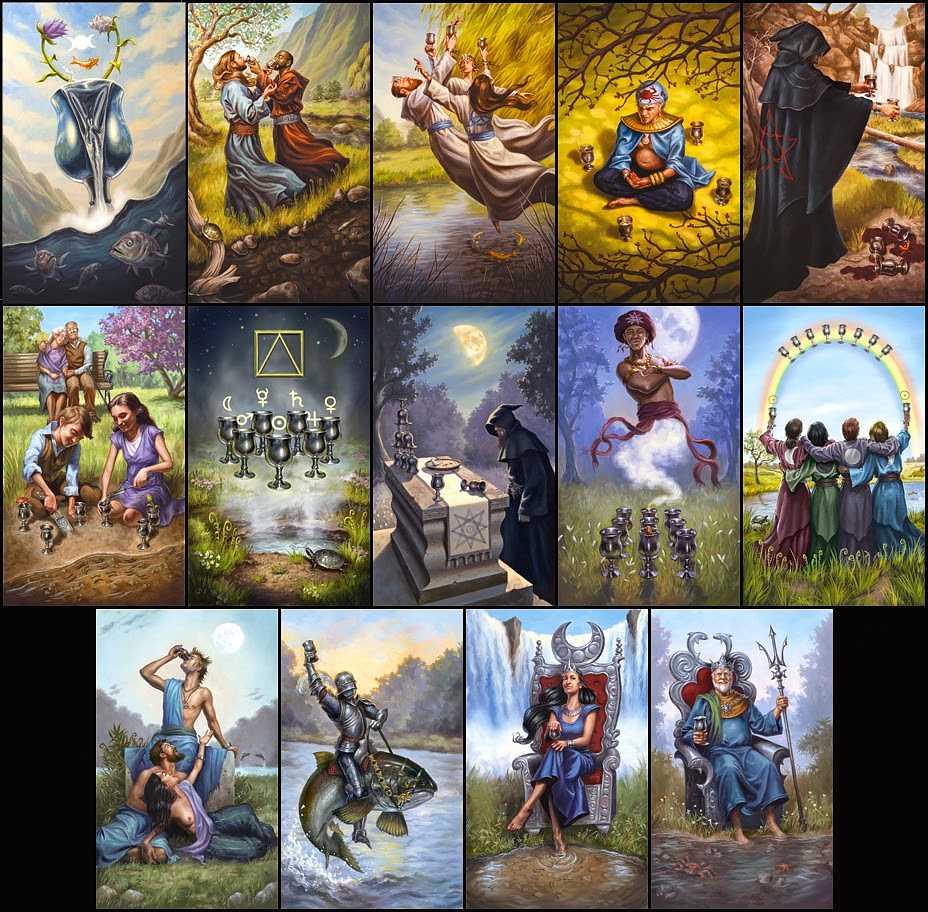Modern Spellcasters Tarot - bok + kort